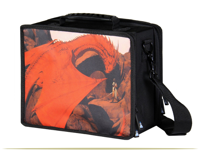 Magic the Gathering Dragon Carrying Case  |  9CoolThings.com