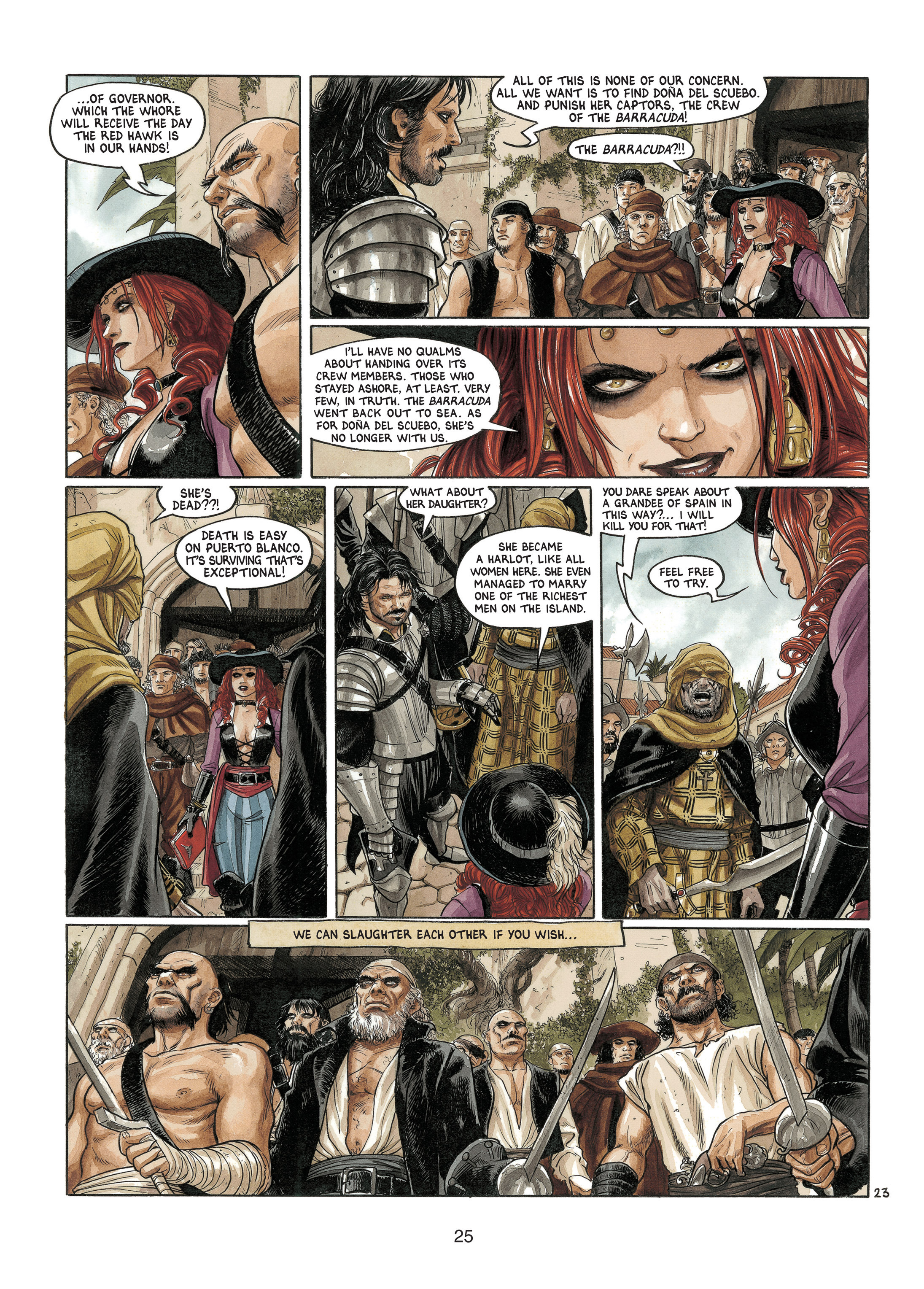 Read online Barracuda comic -  Issue #4 - 26