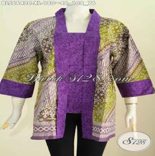 Contoh Baju Batik Untuk Kerja Wanita