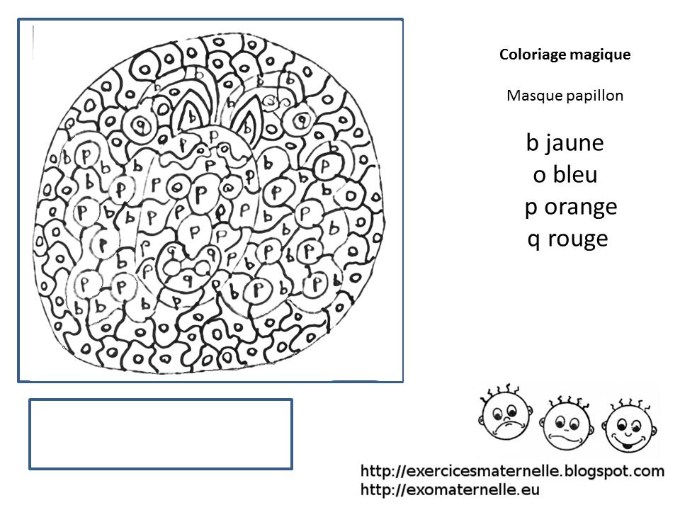 Coloriage Magique Carnaval.Maternelle Coloriage Magique Papillon De Carnaval