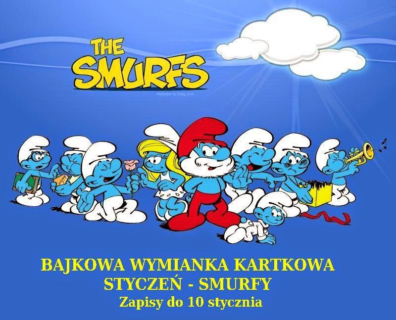 http://misiowyzakatek.blogspot.com/2015/01/bajkowa-wymianka-kartkowa-smurfy.html