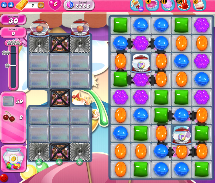 Candy Crush Saga level 2256