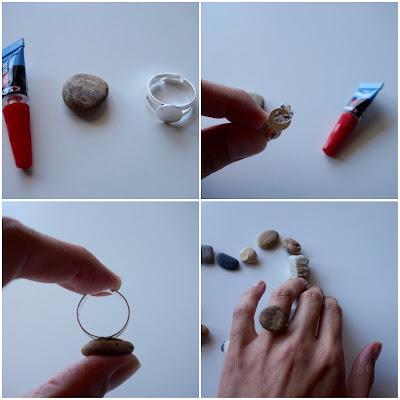 DIY : La bague galet