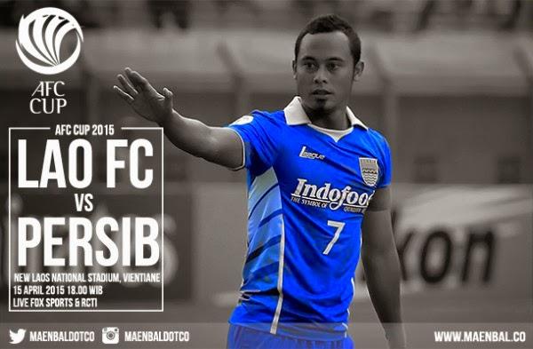 Lao Toyota FC vs Persib Bandung piala AFC