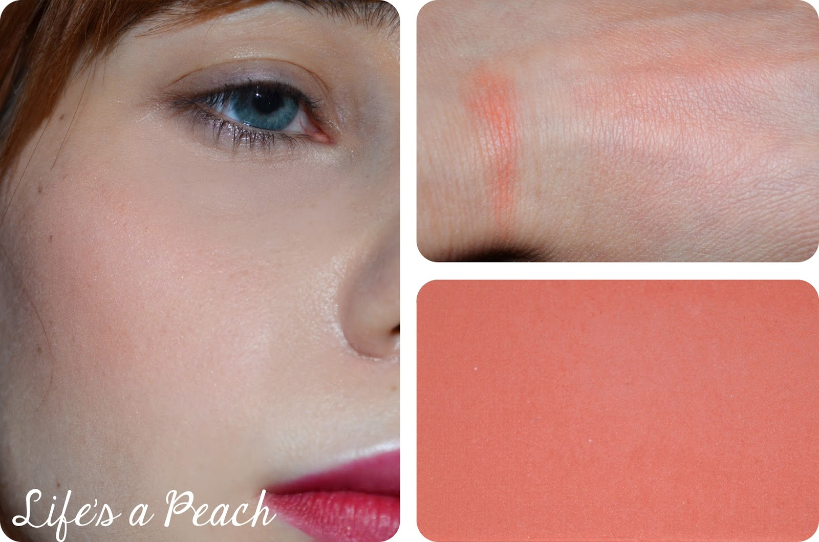 Swatches. Swatches. Recenze Review Sleek Blush Life S A Peach Makeup ...