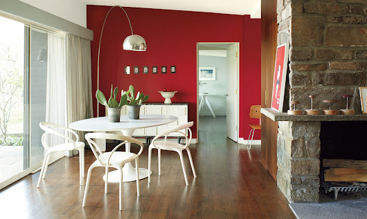 Benjamin Moore's Color of the Year: Caliente AF-290