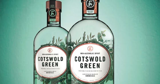 Cotswold Green: a Non-Alcoholic 'Spirit' concept