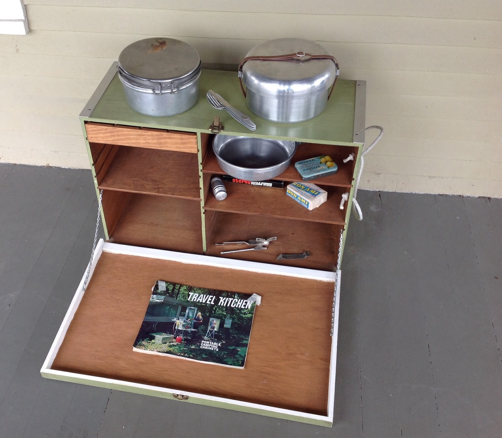 Camping Kitchen Cottontail Farm Vintage Camping Kitchen Chuck Box