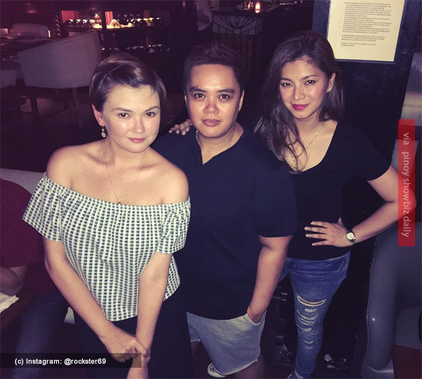Spotted: Angelica Panganiban and Angel Locsin hanging out together