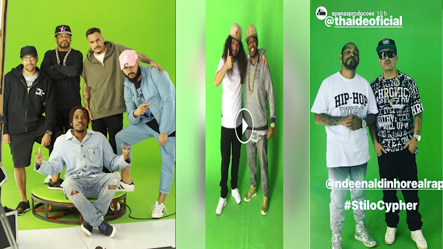Thaide vai lançar o clipe #StiloCypher, com part. de Marcelo D2, Black Alien, Rincon Sapiência,Rapadura, Don Cesão e Ndee Naldinho