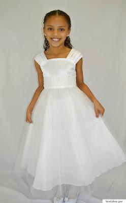Vestidos para la primera comunion cortos
