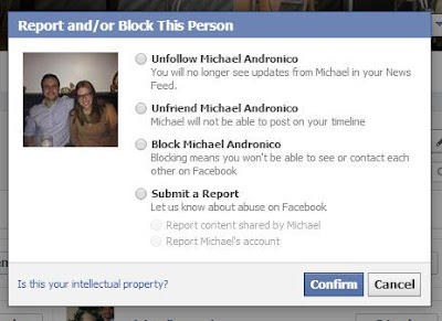 How to block and unblock people on facebook