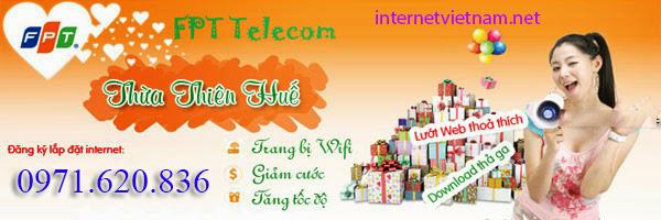 Đăng Ký Internet FPT Phường An Hoà, Tp Huế Giá Rẻ