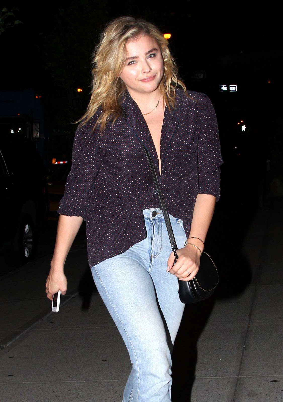 Photos of Chloe Grace Moretz Night Out In New York