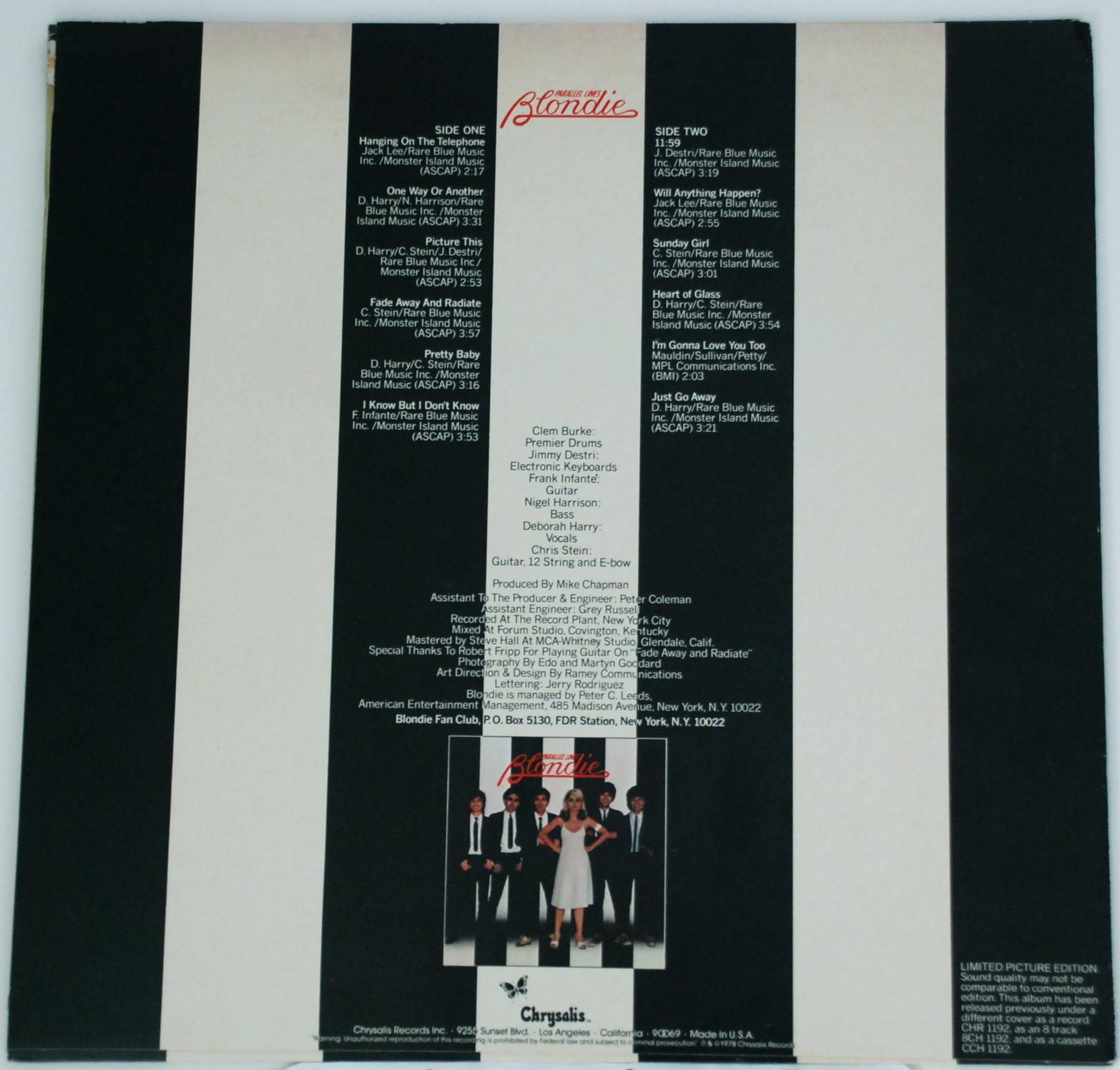 Blondie Parallel Lines Deluxe flac