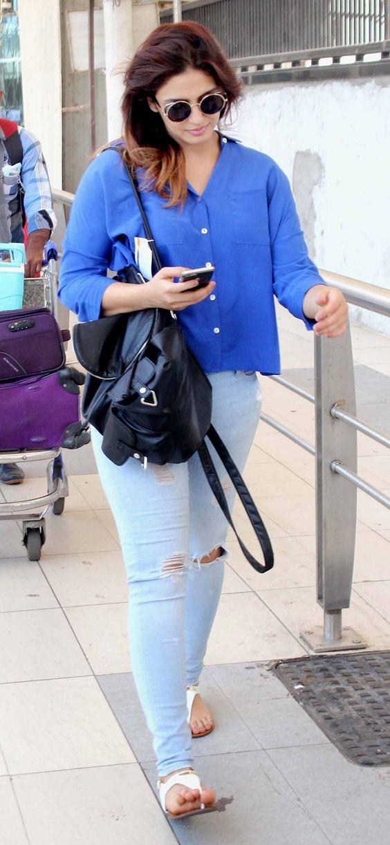 Bollywood Actress HumaQureshi Latest Images