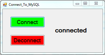 Connect VBNet To MySQL DataBase