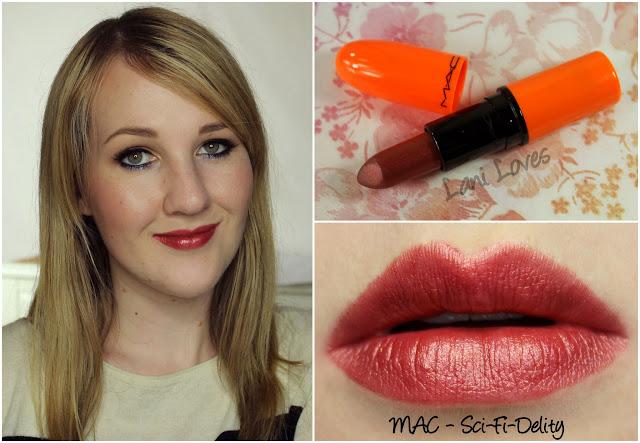 MAC Sci-Fi-Delity lipstick swatch