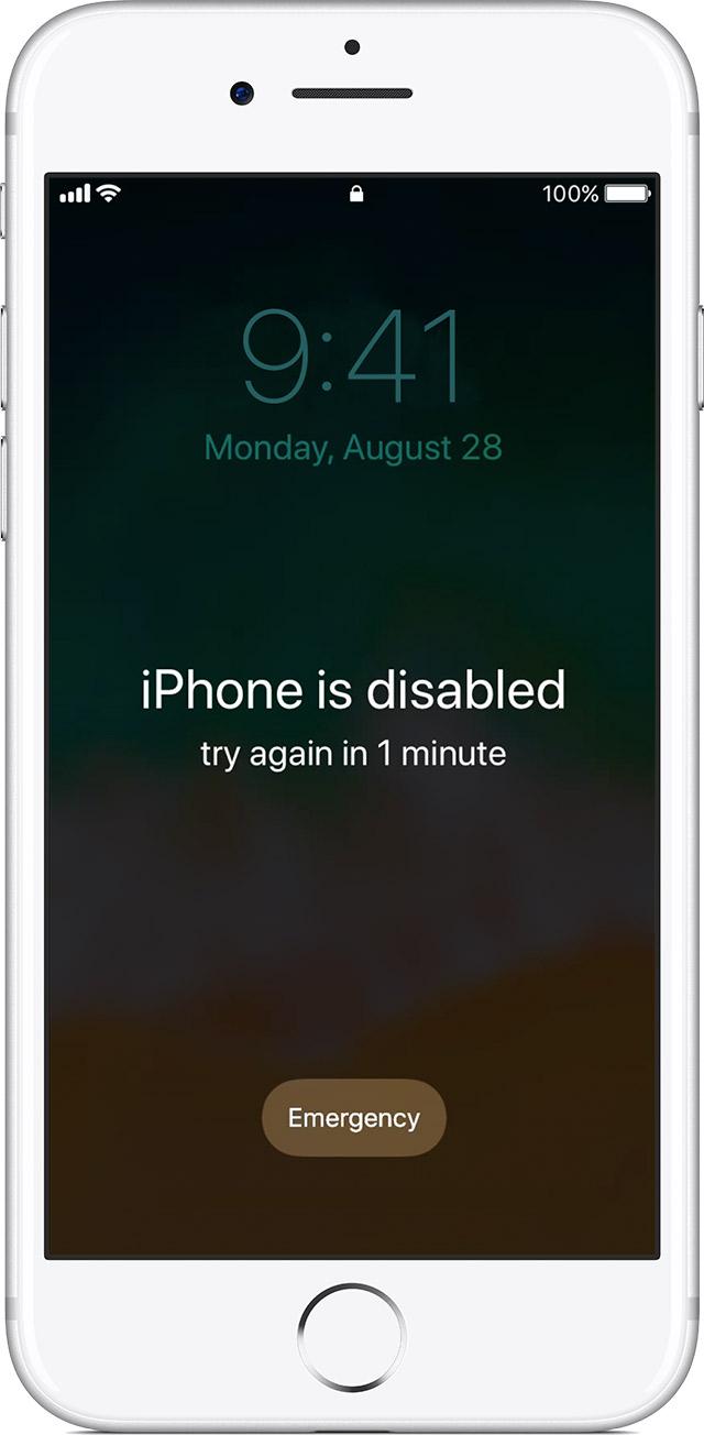 Cara Membuka iPhone Is Disabled Lupa Passcode