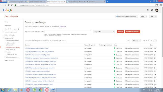 Indexar artigos no google rapidamente - Dicas Marketing - Marketing Digital