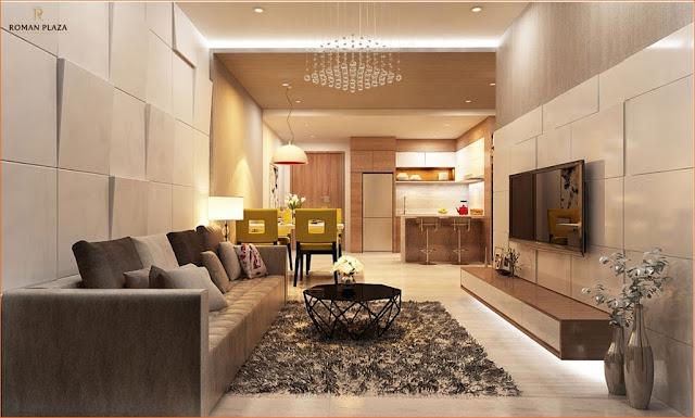 Thiết kế căn hộ Roman Plaza
