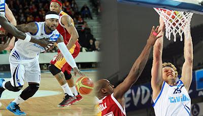 Türk Telekom - Galatasaray Basketbol maçı