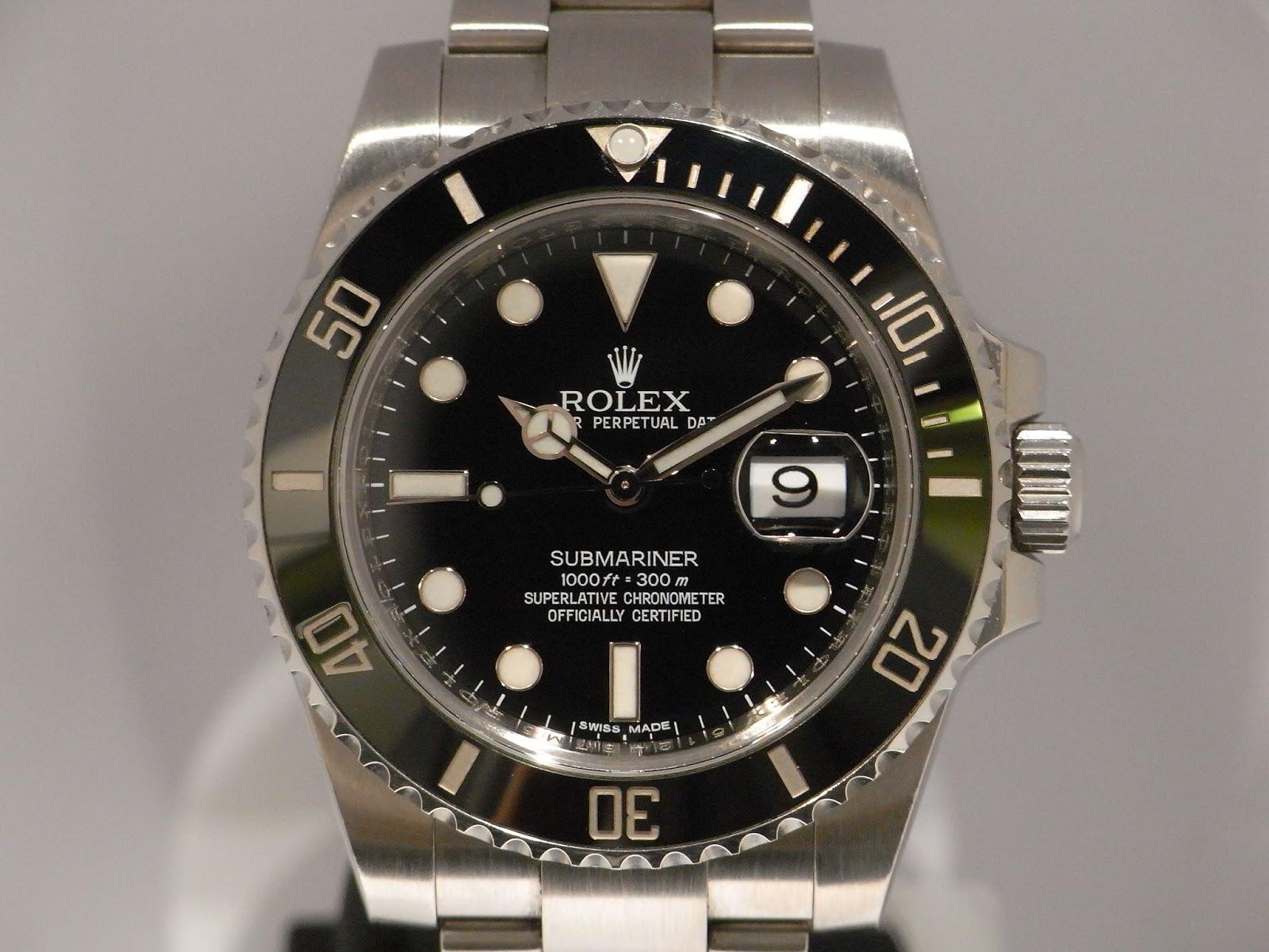 勞力士二手錶行: ROLEX SUBMARINER 116610LN