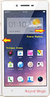 hard reset oppo A33