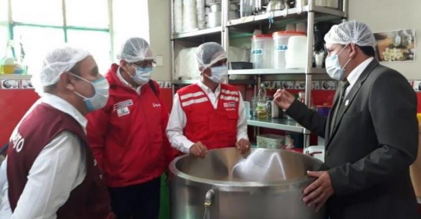 QALI WARMA: Ministro de Desarrollo e Inclusión Social, Jorge Meléndez, supervisó servicio alimentario en I.E. «Juan Clemente Vergel» en Cajamarca - www.qaliwarma.gob.pe