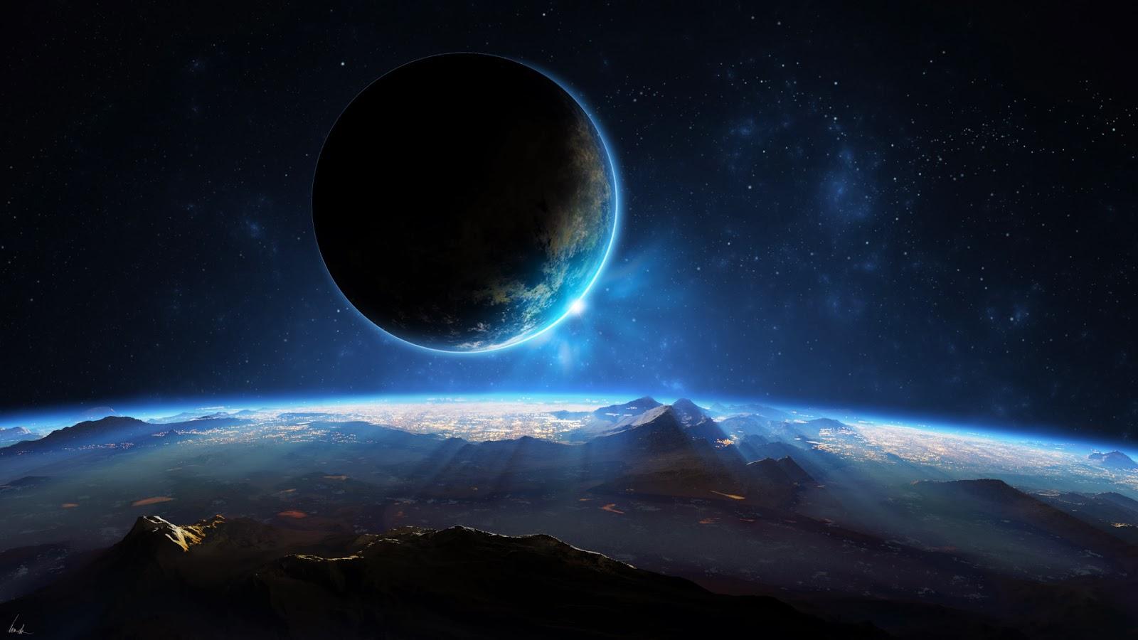 Beautiful Seen of Galaxy HD Wallpapers