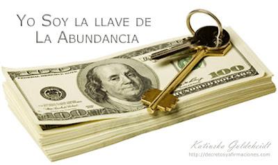 yo soy la llave de la abundancia