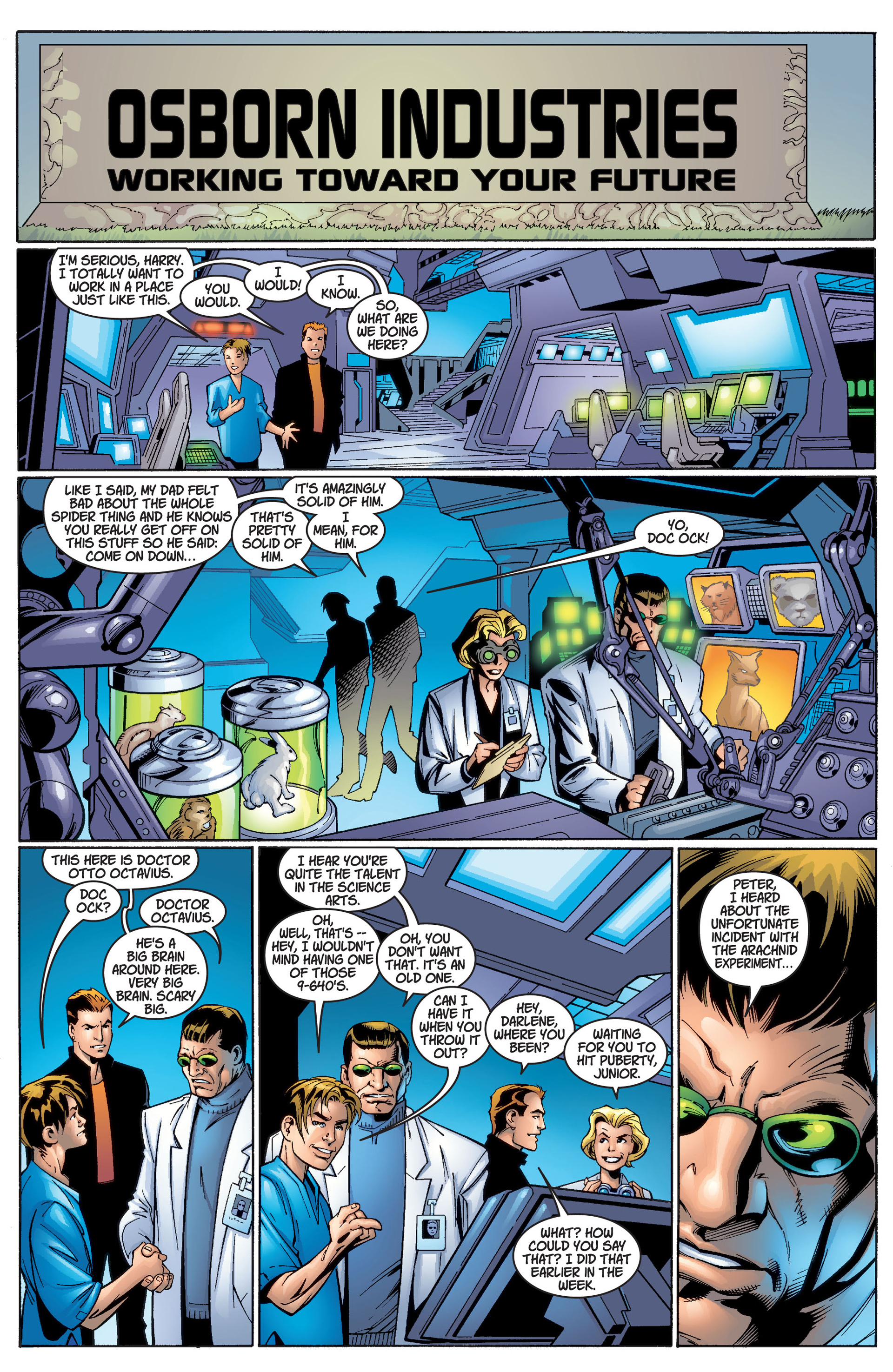 Read online Ultimate Spider-Man (2000) comic -  Issue #2 - 19