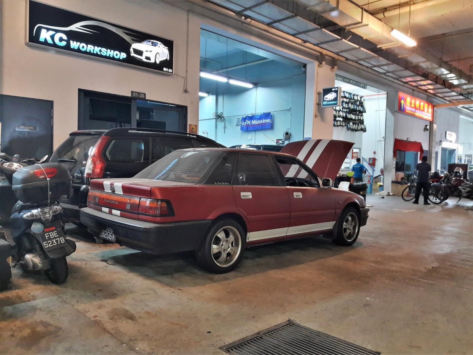 More Than An Old Car 61 Honda Concerto