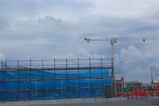 Pacific Fair Construction Site