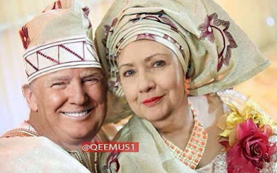 donald trump hillary clinton wedding pictures