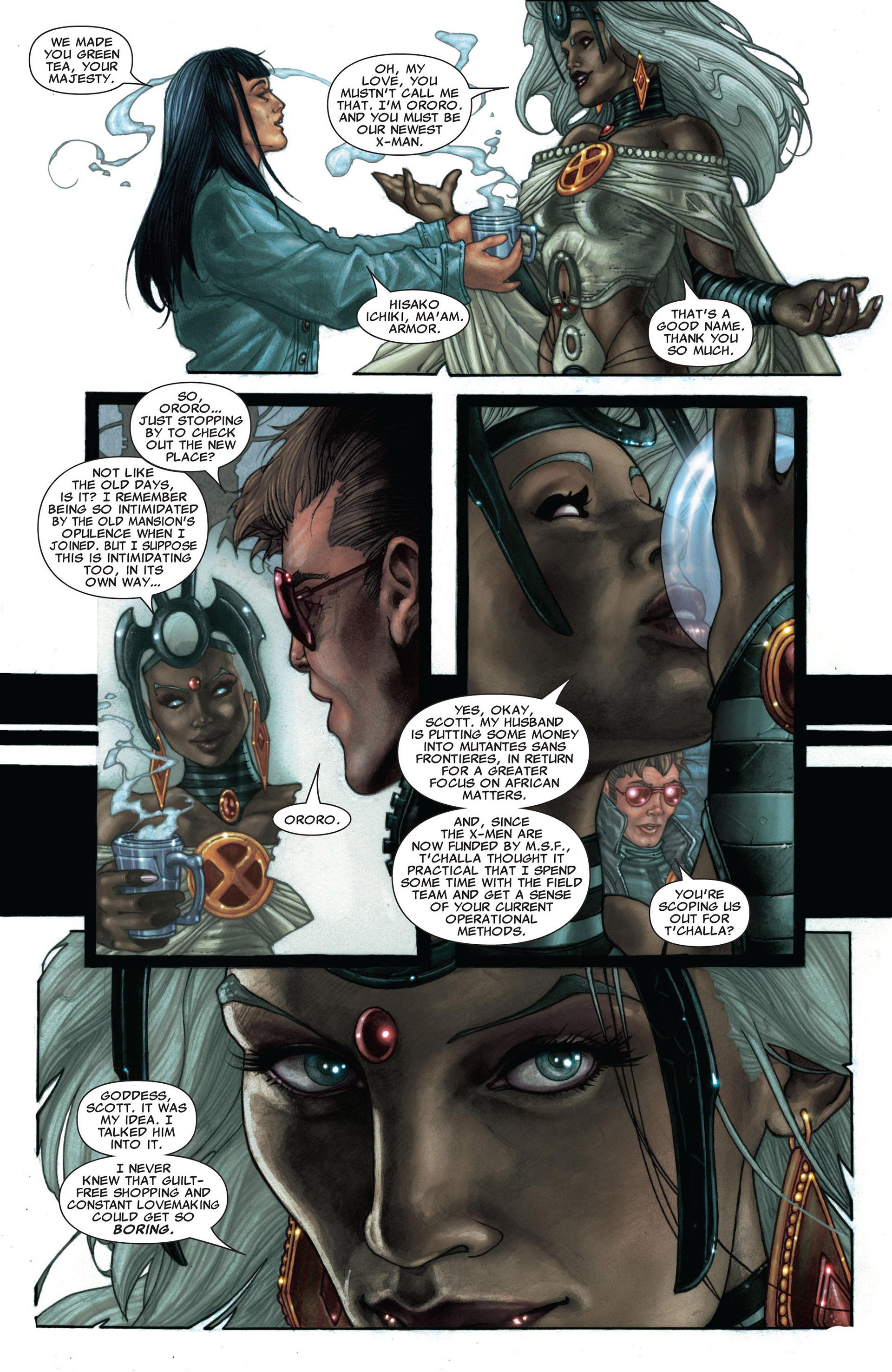 Read online Astonishing X-Men (2004) comic -  Issue #25 - 12