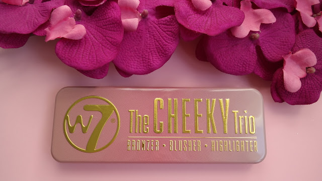 W7 Cheeky Trio Bronzer - Blusher - Highlighter
