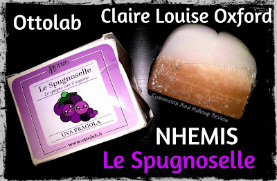 Nhemis Cosmetics - Le Spugnoselle - Uva Fragola per Cosmetics And Makeup Review