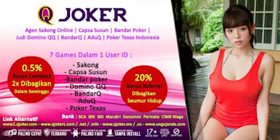 Bonus Cashback 2x Judi Poker Online Di Situs QJoker.me
