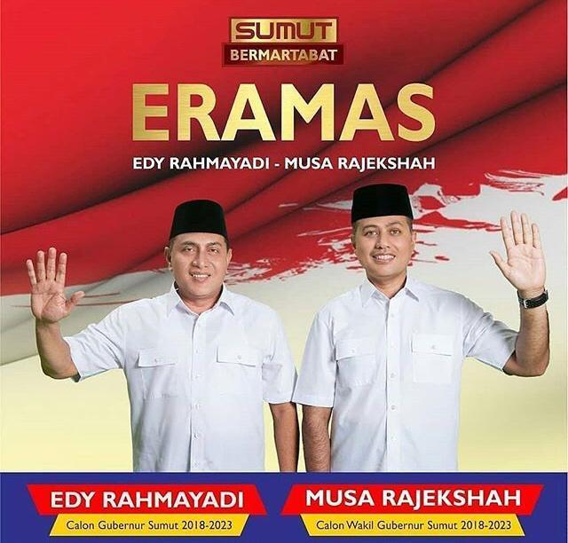 Ribuan Massa Akan Hadiri Deklarasi ERAMAS di Lapangan Merdeka Medan