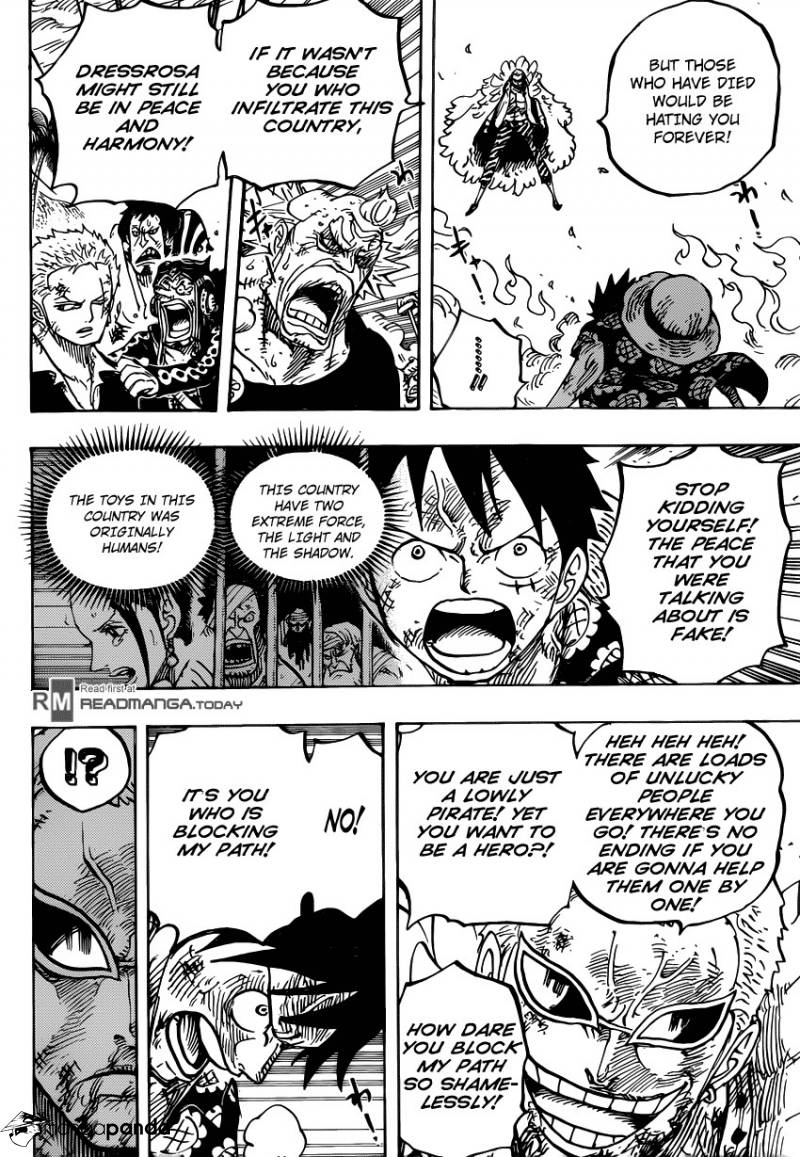 One Piece Ch 783: In My Way