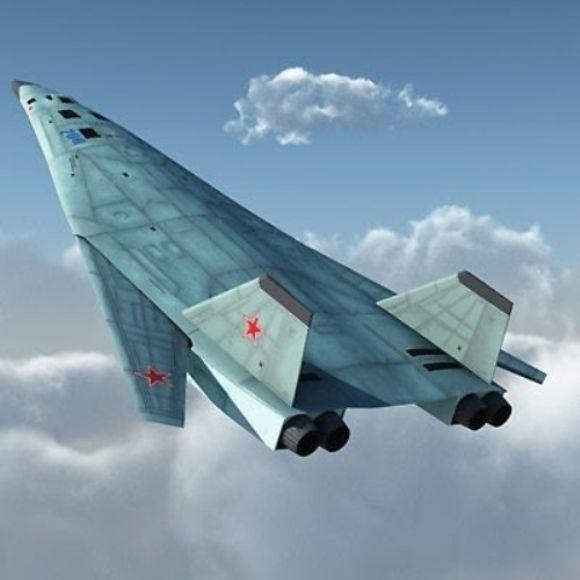 Bomber PAK-DA Rusia