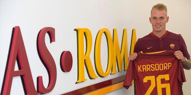 Resmi Gabung Roma, Inilah Target Karsdorp