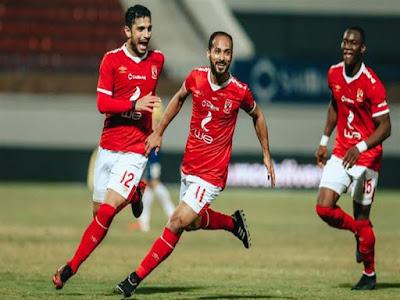 التشكيل المتوقع للأهلي أمام المقاصة اليوم فى الدوري المصري