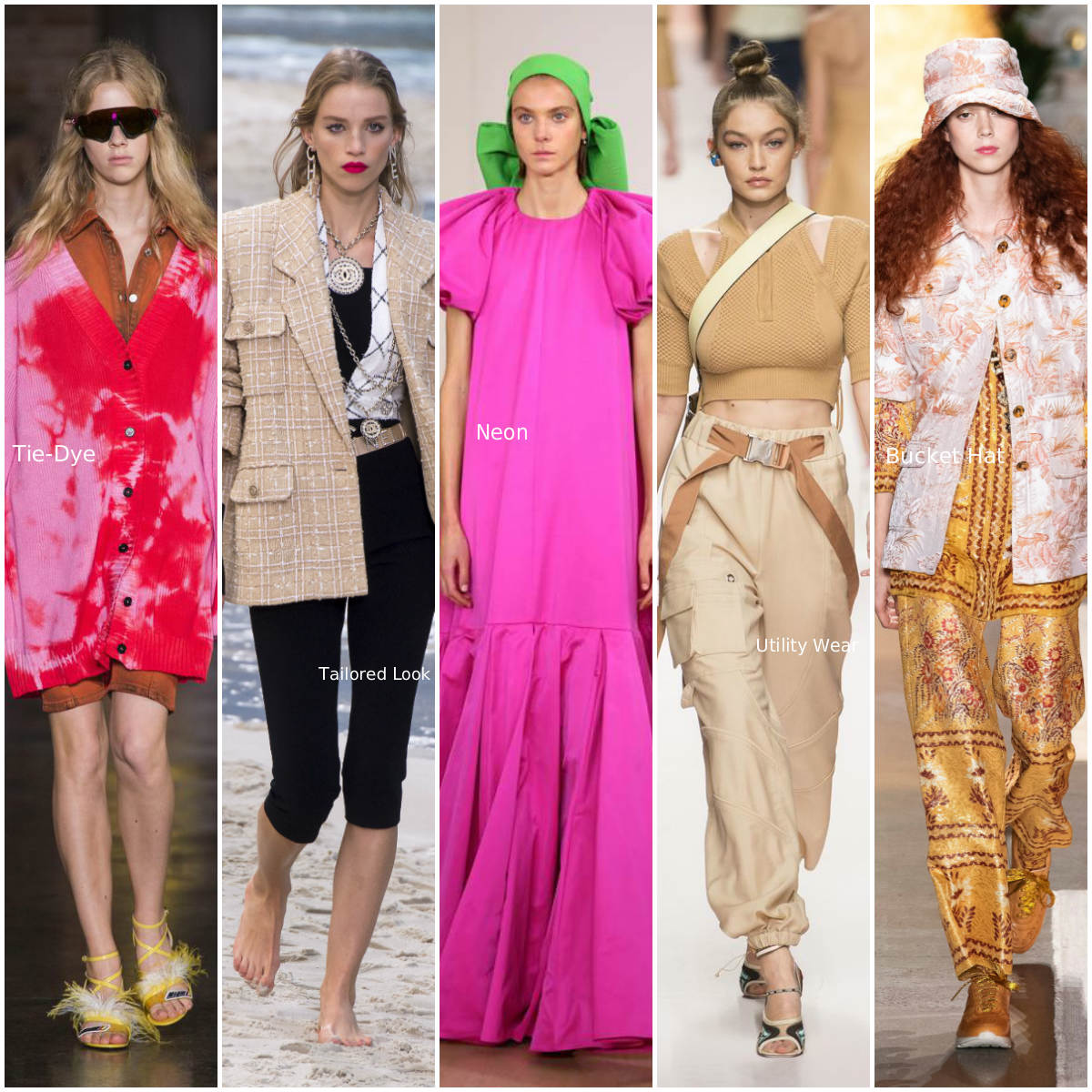 3db09b82 Trends Spring/Summer 2019 (Photos by Indigital.tv and Getty Images) Click  to enlarge