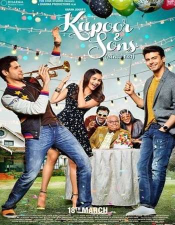 Kapoor and Sons 2016 Hindi 400MB pDVDRip 480p x264