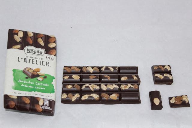 Les Recettes de l'Atelier Negro Almendras Nestlé