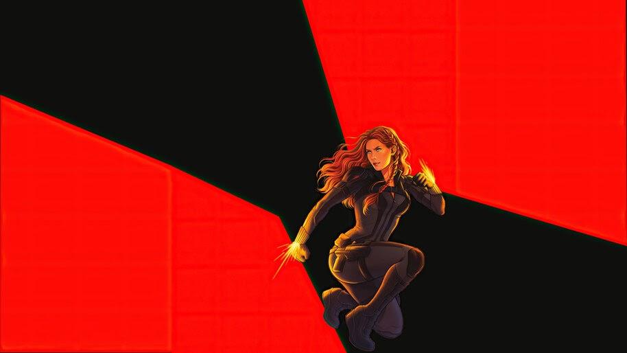 Black Widow, 2020, Movie, Art, 4K, #7.1578