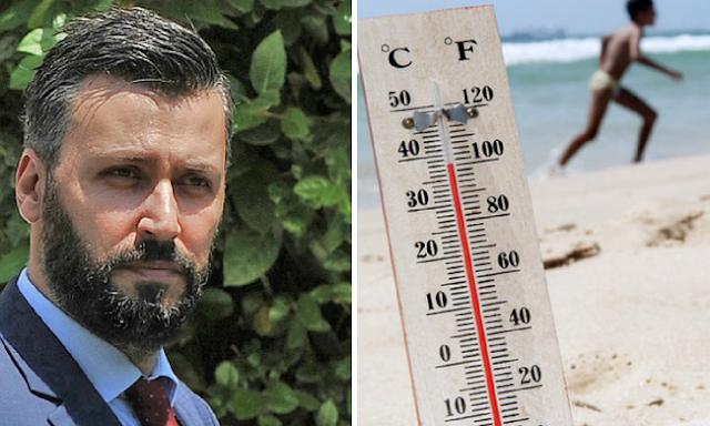 Καλλιάνος: Έρχονται 40°C την Τρίτη στην Αργολίδα