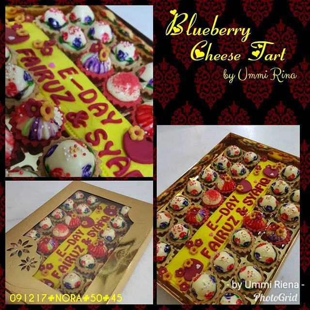 CHEESE TART - SET HANTARAN